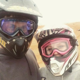 I wouldn't want to tear it up on the Wayonoka, OK sand dunes with anyone else.