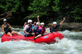 You're my kinda white water rafting crazy.